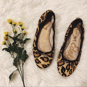 Sam Edelman Leopard Print Felicia Ballet Flats 9.5